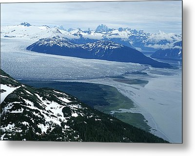 The Taku Glacier, Near Juneau Metal Print by Kenneth Garrett