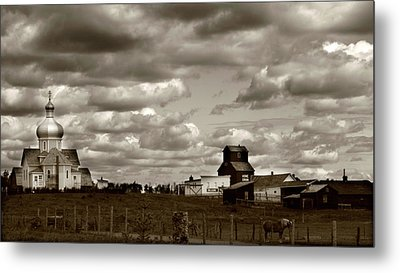 The Village Metal Print by Jerry Cordeiro