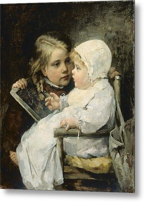 The Young Artist Metal Print