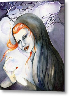 There's Magick In The Air Metal Print