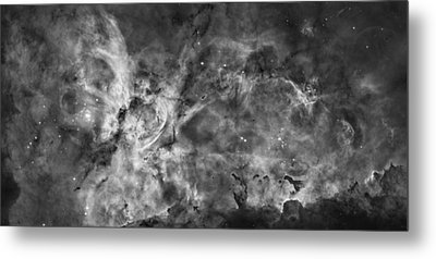 This View Of The Carina Nebula Metal Print by ESA and nASA