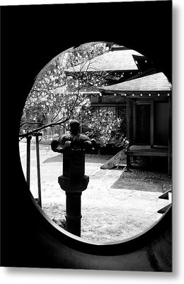 Through The Window Of Time Metal Print by Sebastian Musial