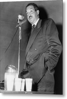Thurgood Marshall, Then Chief Counsel Metal Print by Everett
