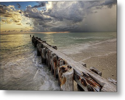 Time And Tide Metal Print by Nick  Shirghio