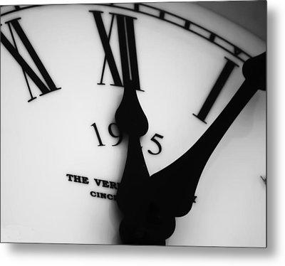 Time Metal Print by Nancie Rowan
