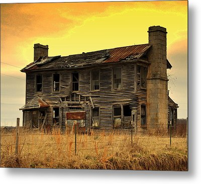 Metal Print featuring the photograph Times Past by Marty Koch