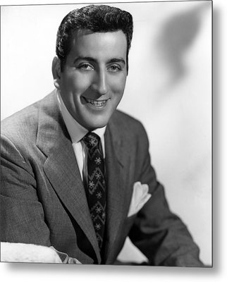 Tony Bennett, C. 1952 Metal Print by Everett
