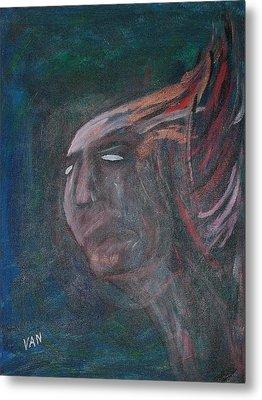 Torment Metal Print by Van Winslow