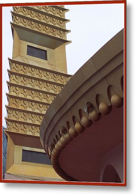 Tower And Rotunda Metal Print