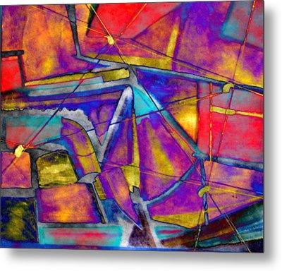 Trapezoid Metal Print
