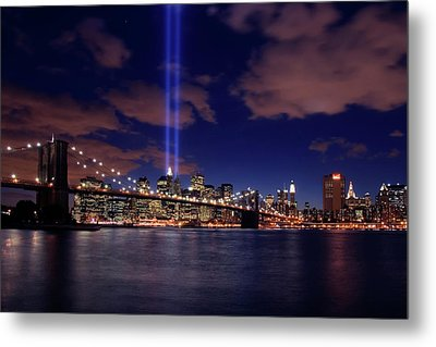 Tribute In Light II Metal Print by Rick Berk