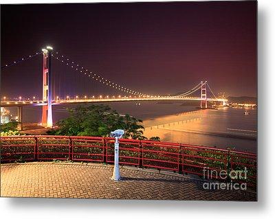 Tsing Ma Bridge Metal Print by MotHaiBaPhoto Prints