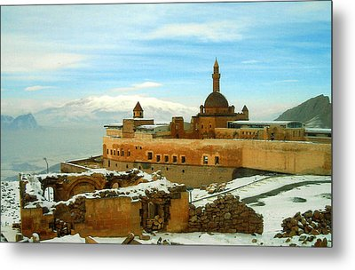 Metal Print featuring the photograph Turkish Fortress by Lou Ann Bagnall
