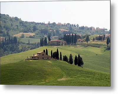 Metal Print featuring the photograph Tuscany by Carla Parris
