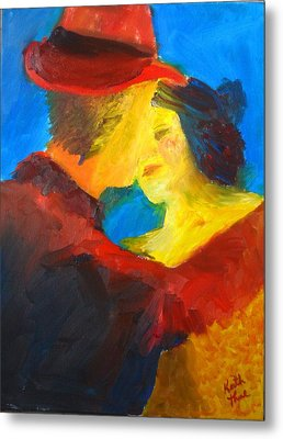 Two Am Tango Metal Print by Keith Thue