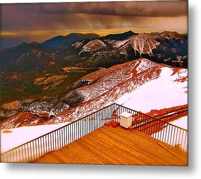 Two Worlds Collide  Metal Print by Amber Hennessey