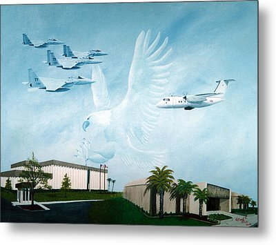 Tyndall Afb Later Years Metal Print