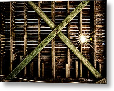 Under The Pier Metal Print by Christopher Holmes