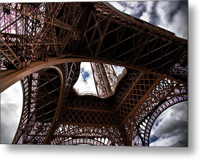 Under The Tower Metal Print by Edward Myers