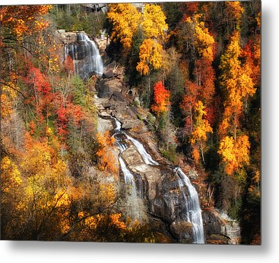 Upper Whitewater Falls Metal Print