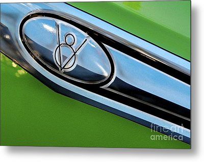 V8 Metal Print by Sherry Davis