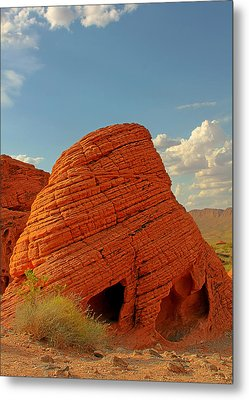 Valley Of Fire Nevada - Beehives Metal Print by Christine Till