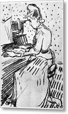 Van Gogh: Gachet, 1890 Metal Print by Granger