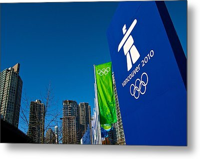Metal Print featuring the photograph Vancouver 2010 by JM Photography