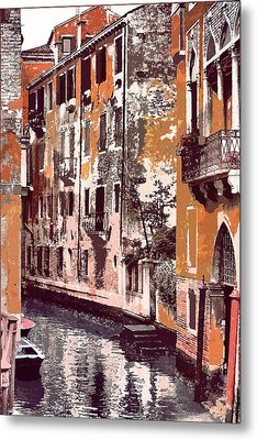 Venetian Serenity Metal Print by Greg Sharpe
