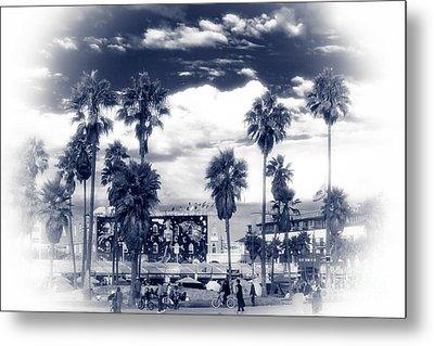 Venice Beach Haze Metal Print by John Rizzuto
