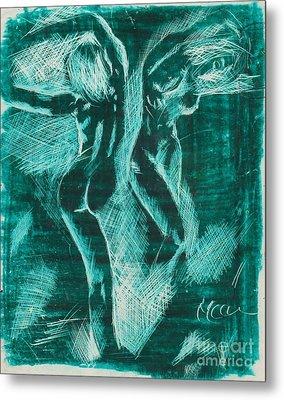 Verde 08 Metal Print by Marcos