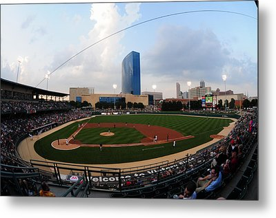 Victory Field Home Of The Indianapolis Indians Metal Print by Rob Banayote