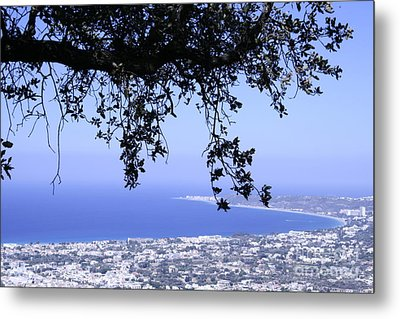 View Metal Print by Barry Boom