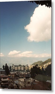 Metal Print featuring the photograph View From The Window by Fotosas Photography