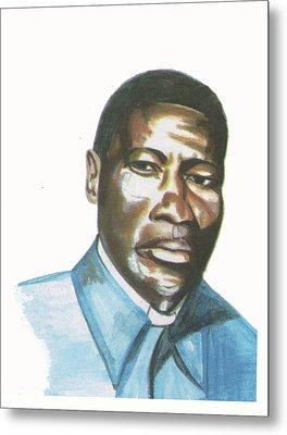 Vincent Mulago Metal Print by Emmanuel Baliyanga