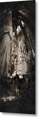 Virgin Mary Metal Print by Torgeir Ensrud