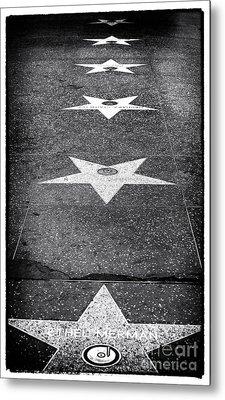 Walk Of Fame Metal Print by John Rizzuto