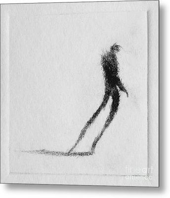 Walking I Metal Print by Valdas Misevicius