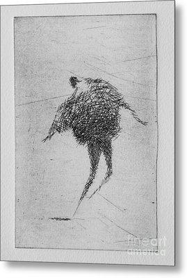 Walking Iv Metal Print by Valdas Misevicius
