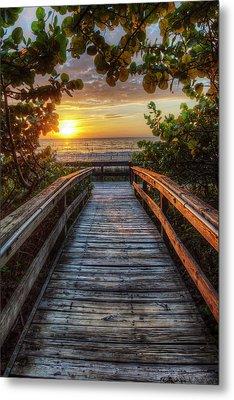 walkway to Paradise Metal Print