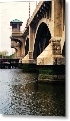 Washington Bridge Metal Print by John Scates