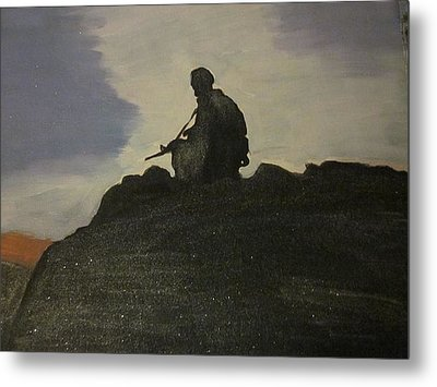 Watching Over Us Metal Print by David Poyant