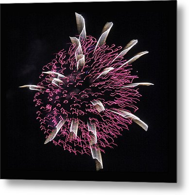 Metal Print featuring the photograph Waved Orb by Chris Anderson