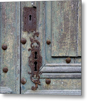 Weathered Metal Print by Lainie Wrightson