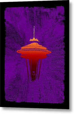 Weathering The Storm Metal Print by Tim Allen