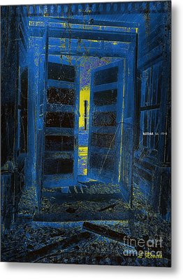 Welcome Home - We Have Been Waiting Metal Print by Leslie Revels Andrews