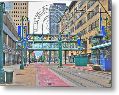 Metal Print featuring the photograph Welcome No 2 by Michael Frank Jr