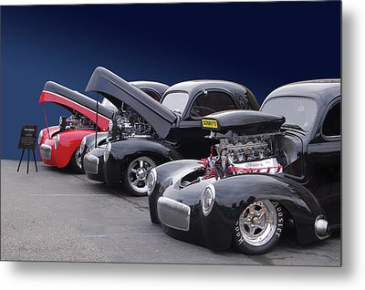 Metal Print featuring the photograph Whas In Your Willys by Bill Dutting