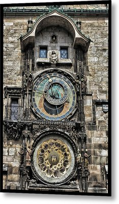 What Time Is It Metal Print by Jason Wolters