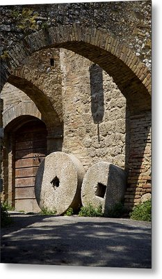 Wheeled Arches Metal Print